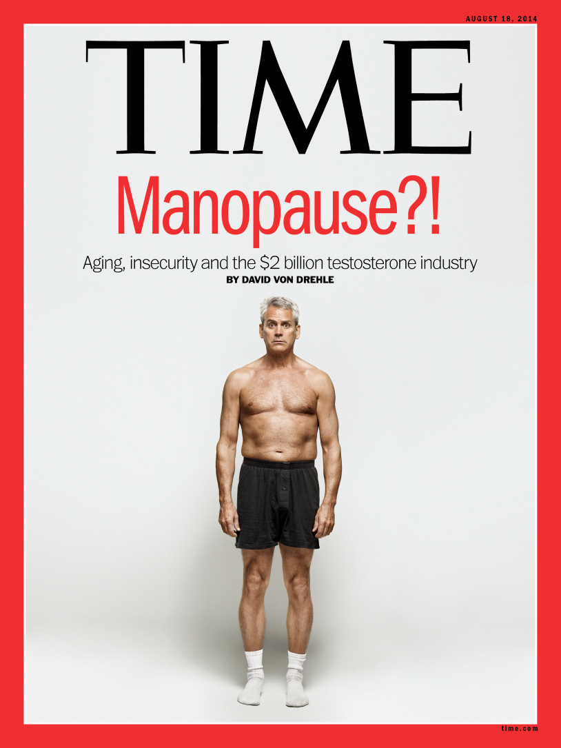 """Male Menopause, Andropause and now """"Manopause""""?"""